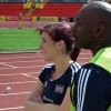 Libby Clegg and guide runner Lincoln Asquith<li><em>Crispin Sadler</em></li>