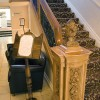 White Swan Hotel, Alnwick, Northumberland - Aft 1st Class Staircase from Olympic. <em>© White Swan Hotel, Alnwick</em>